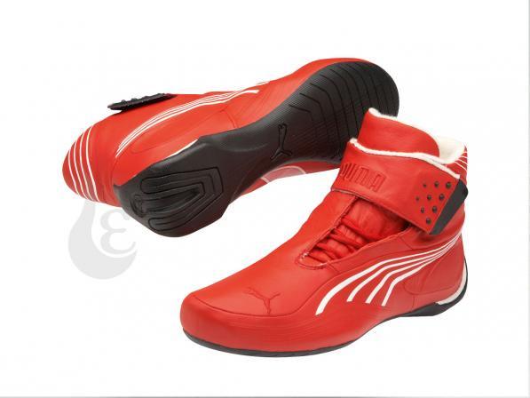 PUMA SL TECH Mid Pro   HIGH RISK RED-WHITE