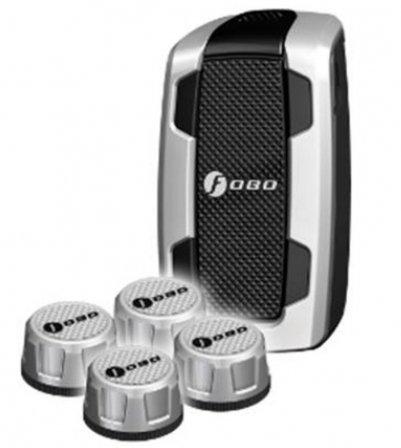 Bluetoothスマート タイヤ空気圧モニタリングシステム(TPMS)FOBO Tire Silver
