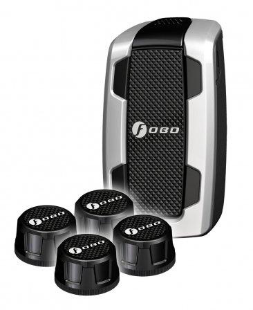 Bluetoothスマート タイヤ空気圧モニタリングシステム(TPMS)FOBO Tire Black