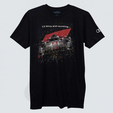 アウディ AUDI LEMANS Tシャツ/Lサイズ