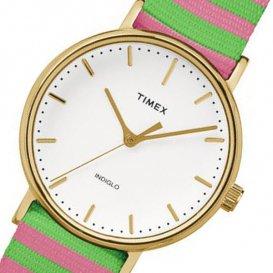 タイメックス ウィークエンダー レディース 腕時計 TW2P91800 ホワイト 国内正規