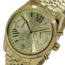 マイケルコース MICHAEL KORS クオーツ クロノ レディース 腕時計 MK5556 ゴールド