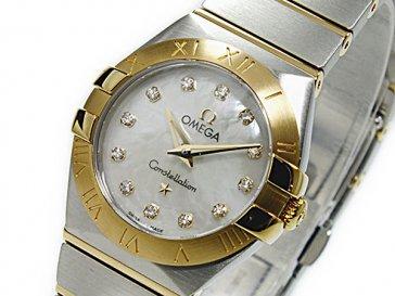 オメガ OMEGA コンステレーション クオーツ レディース 腕時計 12320246055002