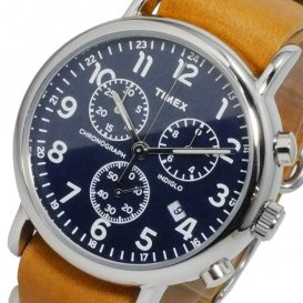 タイメックス ウィークエンダ? クロノ 腕時計 TW2P62300 ネイビー 国内正規