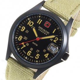 スイスミリタリー SWISS MILITARY クオーツ ユニセックス 腕時計 ML-388 ブラック
