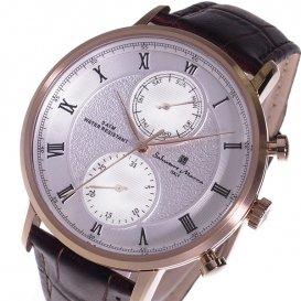 サルバトーレ マーラ クオーツ メンズ 腕時計 SM16105-PGWH ホワイト