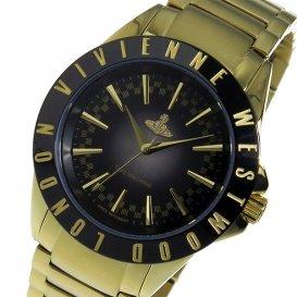 ヴィヴィアン ウエストウッド クオーツ レディース 腕時計 VV099BKGD ブラック