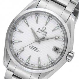 オメガ シーマスター アクアテラ 自動巻き メンズ 腕時計 23110392102001 ホワイト