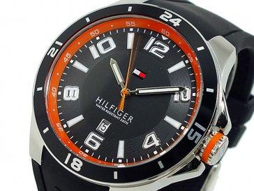トミー ヒルフィガー 腕時計 メンズ 1790861 ブラック