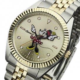 インガソール ディズニー ミニー クオーツ ユニセックス 腕時計 ZR26509 ゴールド