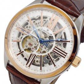 アーンショウ EARNSHAW 自動巻き メンズ 腕時計 ES-8037-04 ホワイト