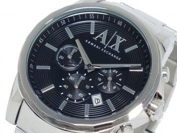 アルマーニ エクスチェンジ ARMANI EXCHANGE クロノグラフ 腕時計 AX2084