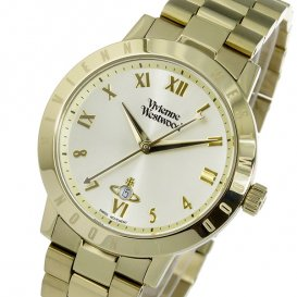 ヴィヴィアン ウエストウッド クオーツ レディース 腕時計 VV152GDGD ゴールド