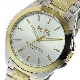 コーチ COACH クオーツ レディース 腕時計 14502180 シルバー/ゴールド