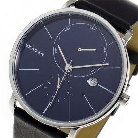 スカーゲン SKAGEN ハーゲン HAGEN クオーツ メンズ 腕時計 SKW6241 ネイビー
