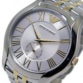 エンポリオ アルマーニ EMPORIO ARMANI バレンテ メンズ 腕時計 AR1844 シルバー