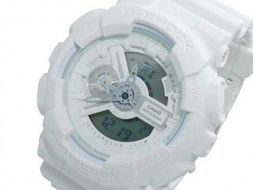カシオ CASIO Gショック G-SHOCK アナデジ メンズ 腕時計 GA-110BC-7A ホワイト