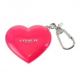コーチ COACH キーリング&USB レディース F69256/SV/ZJ シルバー/ ピンク