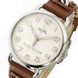 コーチ COACH デランシー DELANCEY クオーツ レディース 腕時計 14502273 ホワイト