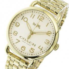 コーチ COACH デランシー DELANCEY クオーツ レディース 腕時計 14502261 アイボリー