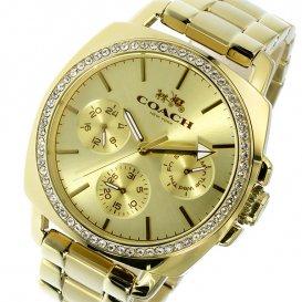 コーチ COACH ボーイフレンド Boyfriend クオーツ レディース 腕時計 14502080 ゴールド