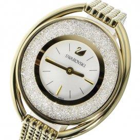 スワロフスキー SWAROVSKI クリスタルライン・オーバル クオーツ レディース 腕時計 5200339 シルバー