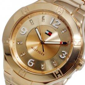 トミー ヒルフィガー レディース クオーツ 腕時計 1781445 ピンクゴールド