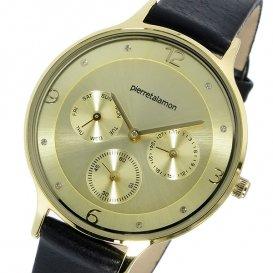 ピエールタラモン PIERRETALAMON クオーツ ユニセックス 腕時計 PT-1500L-3 ゴールド
