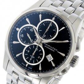 ハミルトン HAMILTON ジャズマスター JAZZMASTER クロノ 自動巻き メンズ 腕時計 H32596131 ブラック
