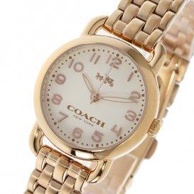 コーチ COACH デランシー DELANCEY クオーツ レディース 腕時計 14502278 ホワイト/ピンクゴールド