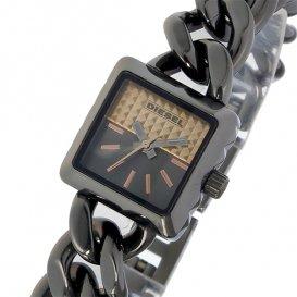 ディーゼル DIESEL ウルスラ URSULA クオーツ レディース 腕時計 DZ5430 ブラック/ピンクゴールド