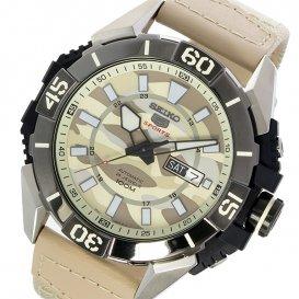 セイコー SEIKO セイコー5 スポーツ 5 SPORTS 自動巻き メンズ 腕時計 SRPA01K1 迷彩 ブラウン