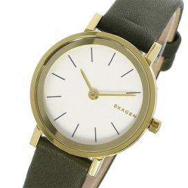 スカーゲン SKAGEN ハルド HALD クオーツ レディース 腕時計 SKW2495 ホワイトシルバー