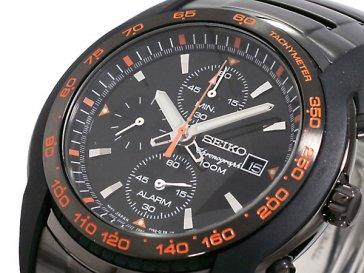 セイコー SEIKO クロノグラフ アラーム 腕時計 SNAB97P1