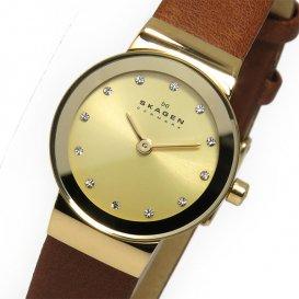 スカーゲン SKAGEN  クオーツ レディース 腕時計 SKW2175 ゴールド
