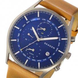 スカーゲン SKAGEN ホルスト HOLST ワールドタイム クオーツ メンズ 腕時計 SKW6285 ブルー