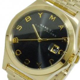 マーク バイ マークジェイコブス クオーツ レディース 腕時計 MBM3315 ブラック