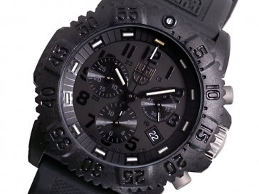 ルミノックス LUMINOX ネイビーシールズ クロノグラフ 腕時計 3081 BLACK OUT