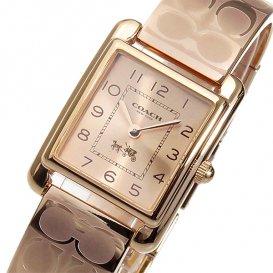 コーチ ペイジ バングル クオーツ レディース 腕時計 14502161 ピンクゴールド