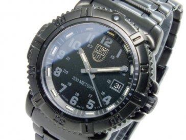 ルミノックス LUMINOX クオーツ ネイビーシールズ カラーマークシリーズ レディース ブラックアウト 腕時計 7252-…