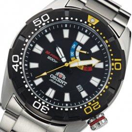 オリエント M-FORCE 200m 自動巻き メンズ 腕時計 SEL0A001B0(WV0181EL) ブラック