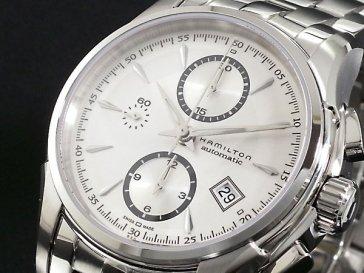 ハミルトン HAMILTON ジャズマスター オートクロノ 自動巻き 腕時計 H32616153