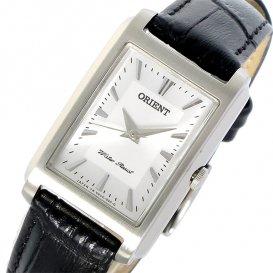 オリエント ORIENT クオーツ レディース 腕時計 SUBUG005W0 シルバー/ブラック