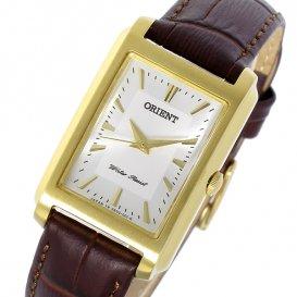 オリエント ORIENT クオーツ レディース 腕時計 SUBUG004W0 シルバー/ダークブラウン