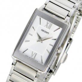 オリエント ORIENT クオーツ レディース 腕時計 SUBTT009W0 ホワイト/シルバー