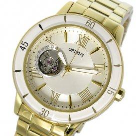 オリエント ORIENT 自動巻き レディース 腕時計 SDB0B003S0 ホワイトシルバー