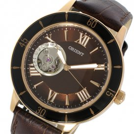 オリエント ORIENT 自動巻き レディース 腕時計 SDB0B002T0 ブラウン
