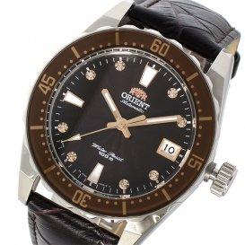 オリエント ORIENT 自動巻き メンズ 腕時計 SAC0A005T0 ブラック/ダークブラウン