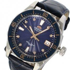 オリエント ORIENT 自動巻き メンズ 腕時計 SAC0A004D0 ネイビー