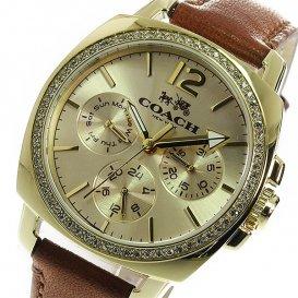 コーチ COACH クオーツ レディース 腕時計 14502172 ゴールド